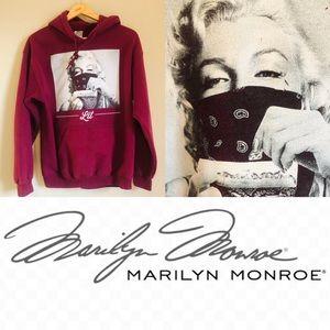 Marilyn Monroe LIT Graphic Hooded Sweatshirt